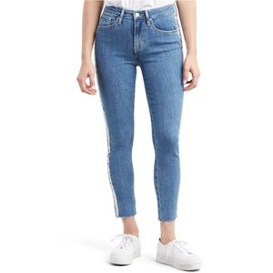 NWT Levi's Sculpt 721 High-Rise Skinny Ankle Jeans
